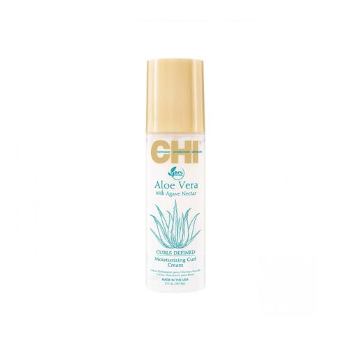 Drėkinantis kremas garbanotiems plaukams CHI Aloe Vera Defined Moisturizing Curl Cream 147ml