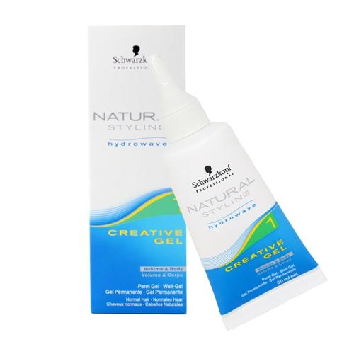 Plaukų formavimo gelis Schwarzkopf Natural Styling Creative Gel (1) 50 ml