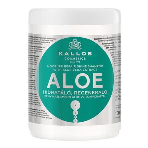Plaukų kaukė sausiems plaukams Kallos Aloe Vera Hair Mask 1000 ml