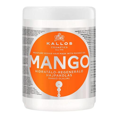 Plaukų kaukė sausiems plaukams Kallos KJMN Mango Hair Mask 1000 ml