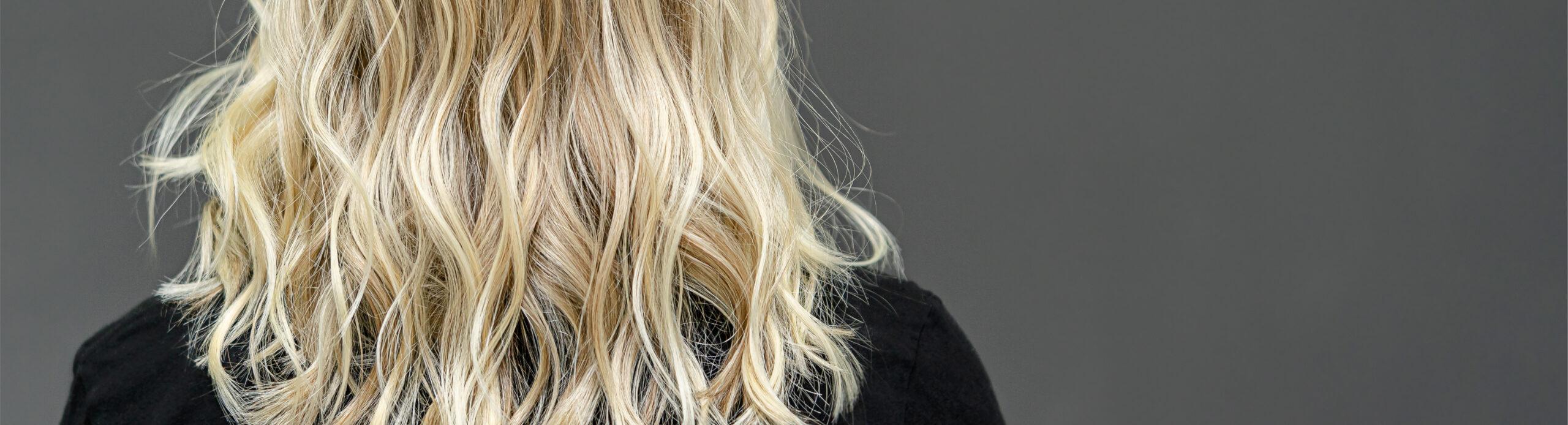 ombre plaukai