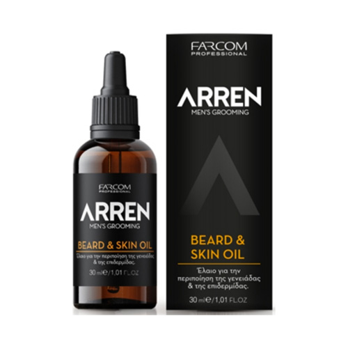 Aliejus barzdai ir odai Farcom ARREN Men Beard & Skin Oil 30ml