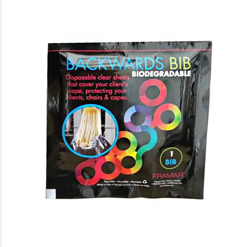 Apsauginė plėvelė plaukų dažymui Framar Backwards Bib 1 vnt.