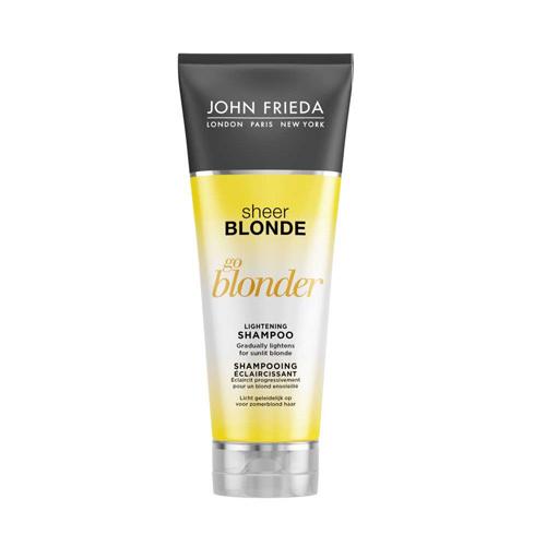 Plaukų šampūnas John Frieda Sheer Blonde Go Blonder Shampoo 250ml
