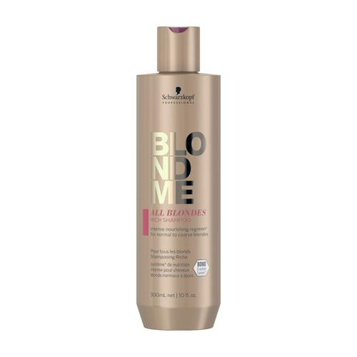 Maitinamasis šampūnas Schwarzkopf Blond Me All Blondes Rich Shampoo 300ml