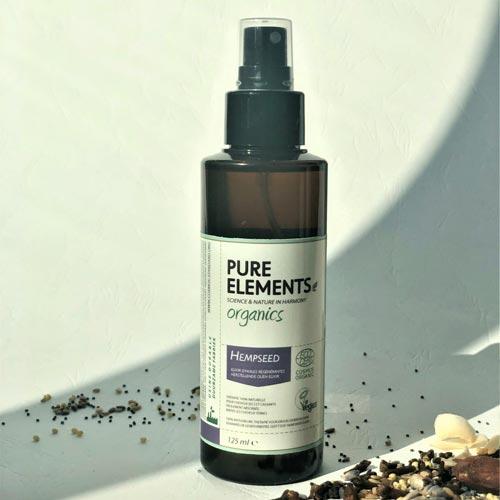 Plaukus atstatantis Kanapių sėklių eliksyras HEMPSEED Regenerating Oil Elixir 125ml