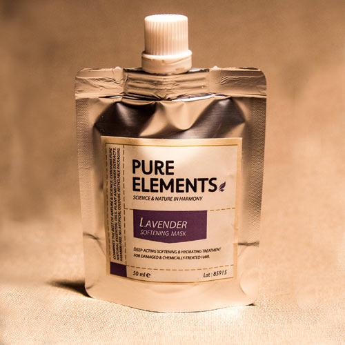 Švelnumo plaukams suteikianti levandų kaukė Lavender Softening Mask 50ml