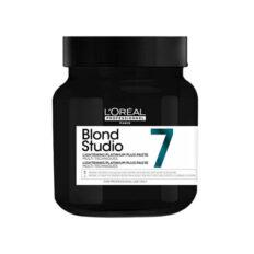 Greitai veikianti plaukų šviesinimo pasta L'Oréal Blond Studio Platinium Plus Paste 500g