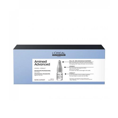 Ampulė nuo plaukų slinkimo L'Oreal Professionnel Aminexil Advanced 42x6ml